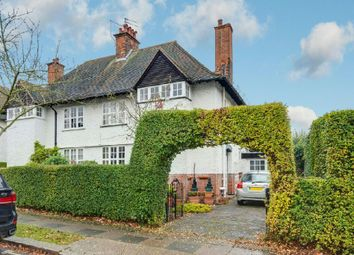 Thumbnail 4 bed semi-detached house for sale in Asmuns Hill, Hampstead Garden Suburb