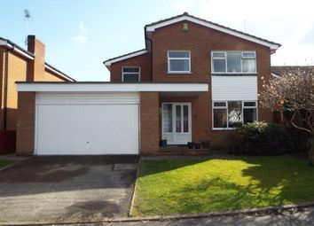 Thumbnail 4 bed detached house for sale in Dart Close, Alsager, Stoke-On-Trent, Cheshire