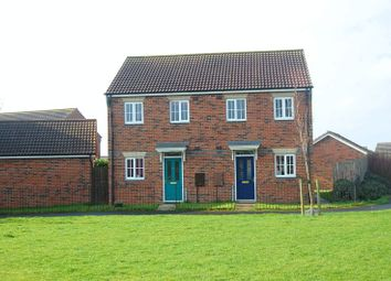 Thumbnail 2 bed semi-detached house for sale in Trinity Gardens, Northallerton
