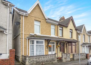 Thumbnail 3 bed semi-detached house for sale in North Road, Loughor, Swansea
