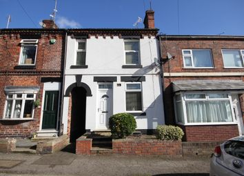 Thumbnail 2 bed terraced house to rent in Station Road, Eckington, Sheffield