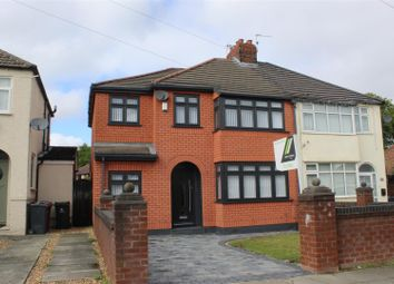 Thumbnail 4 bed semi-detached house for sale in Campbell Drive, Huyton, Liverpool