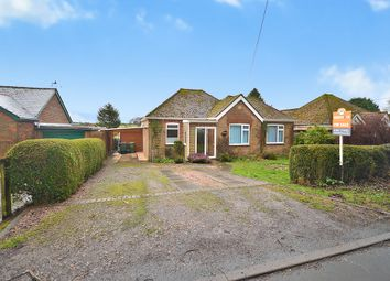 Thumbnail 3 bed detached bungalow for sale in School Road, Acrise, Folkestone