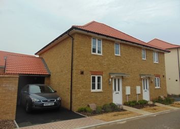 Thumbnail 3 bed semi-detached house to rent in Lamplight Gardens, Aylesham, Canterbury
