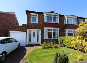 Thumbnail 3 bed semi-detached house for sale in Upsall Grove, Fairfield, Stockton-On-Tees, Cleveland