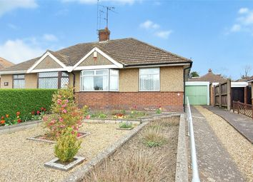 Thumbnail 2 bed semi-detached bungalow for sale in Chalcombe Road, Kingsthorpe, Northampton