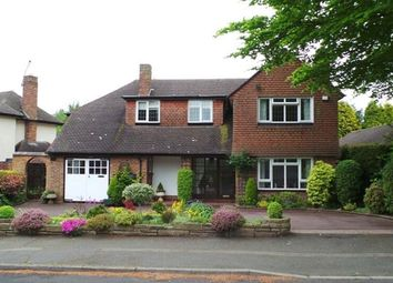 Thumbnail 4 bed detached house for sale in Thornhill Park, Streetly, Sutton Coldfield