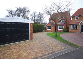 Thumbnail 4 bed detached house for sale in Milldale Court, Belper