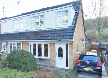 Thumbnail 3 bed semi-detached house for sale in Long Lane, Halifax