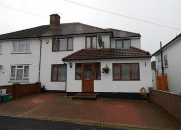 Thumbnail 5 bed semi-detached house for sale in North Downs Road, New Addington, South Croydon