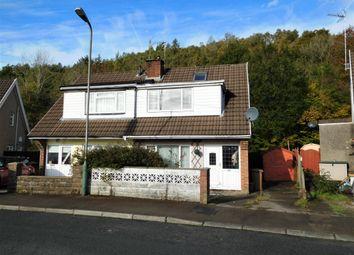 Thumbnail 2 bed semi-detached house for sale in Glyn Bedw, Cwm Las Estate, Llanbradach, Caerphilly