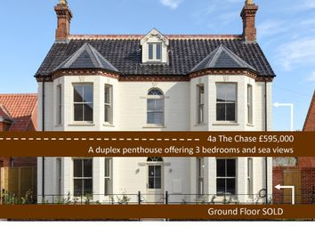 Thumbnail 3 bed flat for sale in The Chase, Blakeney, Holt
