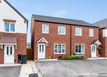 Thumbnail 2 bed semi-detached house for sale in Greenfield Close, Grendon, Atherstone