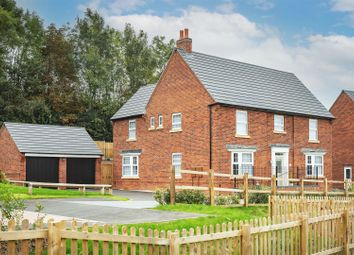 Thumbnail 5 bed detached house for sale in Davenport Grove, Ashbourne, Derbyshire