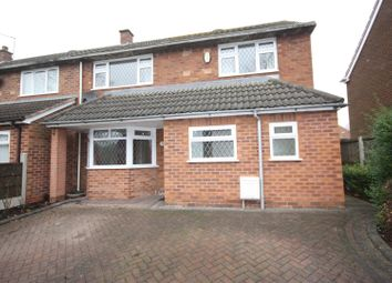 Thumbnail 3 bed semi-detached house to rent in Weston Road, Lichfield