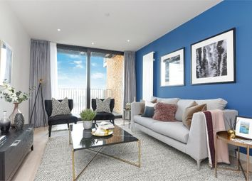 Thumbnail 2 bedroom flat to rent in Masthead House, 5 Royal Crest Avenue, London