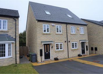 Thumbnail 3 bed semi-detached house for sale in Stirling Wood Close, Huddersfield