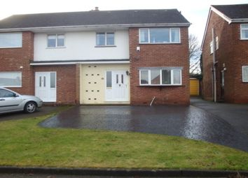 Thumbnail 4 bed semi-detached house to rent in Hundred Acre Road, Sutton Coldfield