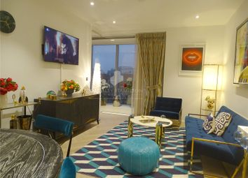 Thumbnail 1 bed flat to rent in Bessborough House, Battersea Power Station, London