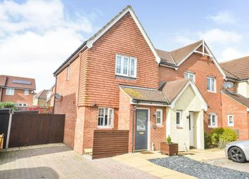 Thumbnail 2 bed semi-detached house for sale in Jupiter Lane, Kingsnorth, Ashford, Kent
