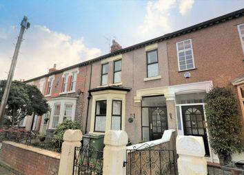Thumbnail 4 bed terraced house for sale in Prescott Street, Wallasey