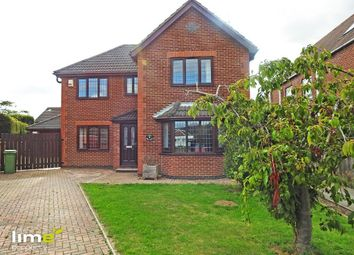 Thumbnail 4 bed detached house to rent in Rise Close, Long Riston