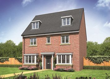 "Thumbnail 5 bed detached house for sale in ""The Regent"" at Norwich Road, Wymondham"