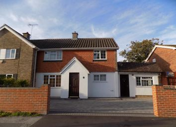 Thumbnail 3 bed semi-detached house to rent in Beechwood Avenue, Woodley