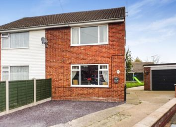 Thumbnail 2 bed semi-detached house for sale in Cedar Close, Uttoxeter