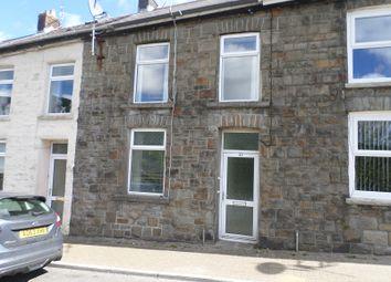 Thumbnail 2 bed terraced house for sale in Pembroke Terrace, Nantymoel, Bridgend, Bridgend.