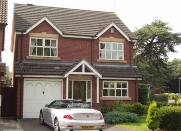 Thumbnail 4 bed detached house to rent in Wych Elm Drive, Leamington Spa