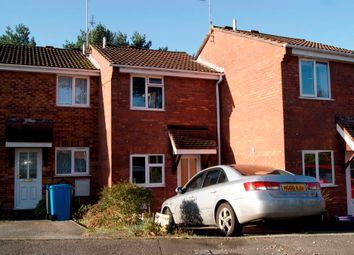 Thumbnail 2 bed terraced house to rent in Overcombe Close, Canford Heath, Poole