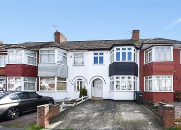 Thumbnail 3 bed terraced house for sale in New Park Avenue, Palmers Green, London