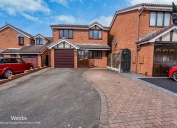 Marlpool Drive, Pelsall, Walsall WS3. 3 bed detached house for sale