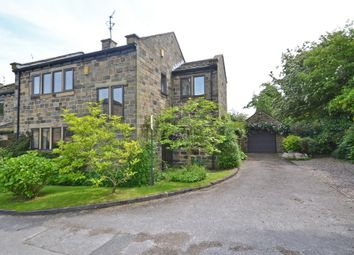 Thumbnail 3 bed barn conversion for sale in The Courtyard, Woolley, Wakefield