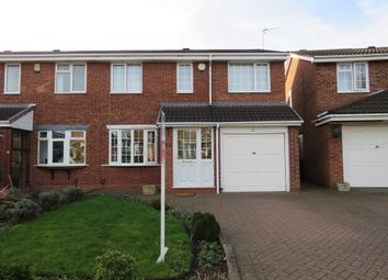 Thumbnail 3 bed semi-detached house for sale in Bradewell Road, Castle Bromwich, Birmingham