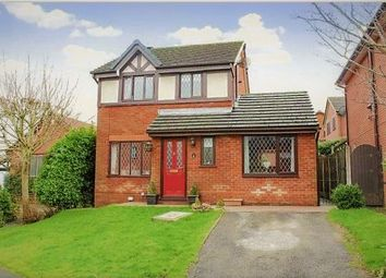 Thumbnail 3 bed detached house for sale in Plumtree Close, Preston