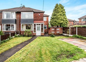 Thumbnail 3 bedroom semi-detached house for sale in Louvaine Close, Abbey Hey, Manchester