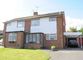 Thumbnail 3 bed semi-detached house for sale in Canford Close, Great Baddow, Chelmsford, Essex