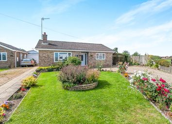 Thumbnail 3 bed detached bungalow for sale in Chalk Road, Walpole St. Peter, Wisbech