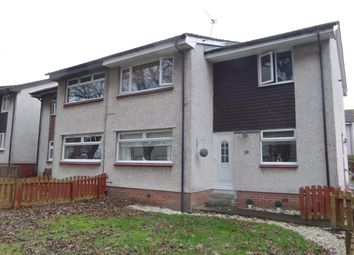 Thumbnail 2 bedroom flat for sale in Earlston Crescent, Coatbridge