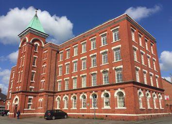 2 bed flat to rent in Flat 6/2nd Floor, Waterloo Mill, Leek, Staffordshire ST13