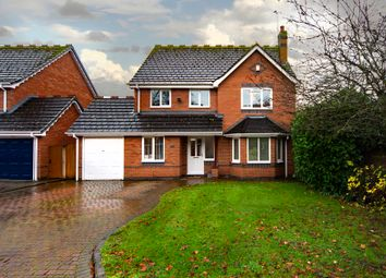 Thumbnail 4 bed detached house for sale in School Close, Codsall, Wolverhampton