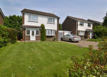 Thumbnail 4 bed detached house for sale in Trafford Close, Old Stevenage, Herts
