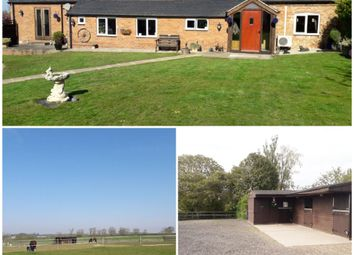 Thumbnail 2 bed equestrian property for sale in Melton Road Hickling Pastures, Mowbray