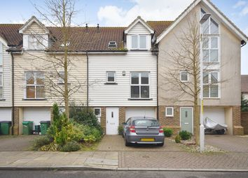 Thumbnail 3 bed town house for sale in Paxton Avenue, Hawkinge, Folkestone
