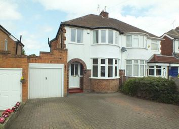 Thumbnail 3 bed semi-detached house to rent in Berkeley Road, Shirley, Solihull
