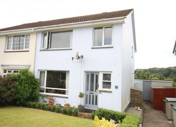 Thumbnail 3 bed semi-detached house for sale in Trevanion Close, Wadebridge