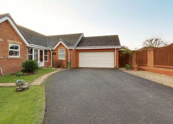 Thumbnail 3 bed detached bungalow for sale in Woodpecker Way, Kirton Lindsey, Gainsborough
