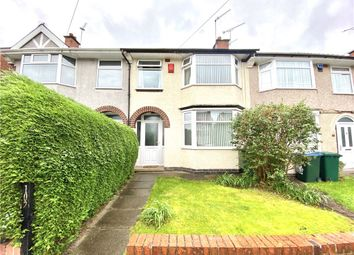 3 bed terraced house for sale in Glencoe Road, Coventry CV3